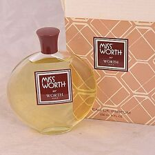 VINTAGE Miss Worth 9 oz eau de parfum perfume