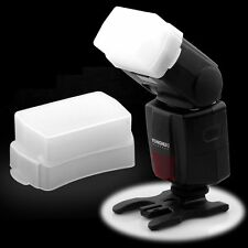 White SB600 SB800 Flash Bounce White Dome Diffuser Light Box for Nikon Speedlite
