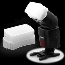 White SB600 SB800 Flash Bounce White Dome Diffuser Light Box for Nikon Speedlite