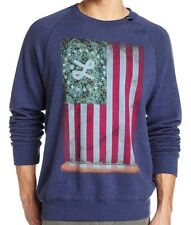L-R-G (New) LIFTED  GLORY SWEATSHIRT Weed 420 Blue LRG Mens Size Small