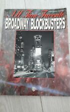 All Time Favourite Broadway blockbusters, Piano Cordes Vocales