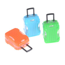 Dollhouse Travel Accessories Doll Suitcase Trunk Girl Gift Toy Eb