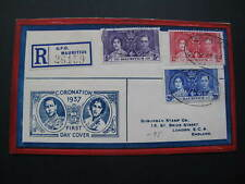 Mauritius Coronation 1937 First Day Cover