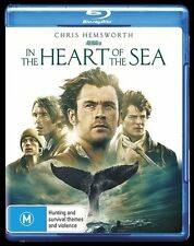 In The Heart Of The Sea (Blu-ray, 2016) New, ExRetail Stock (D143)