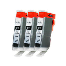 For Canon CLI-8 BK Black Ink Cartridges PIXMA Pro 9000 Mark II 2 - 3 Pack