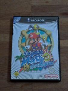Super Mario Sunshine (GameCube GC, 2002) Nintendo PAL