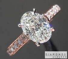 1.07ct J SI1 Oval Diamond R7813 Diamonds by Lauren