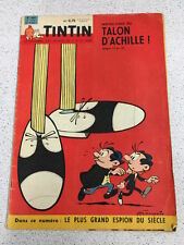 TINTIN  N°654 13e ANNEE 4 MAI 1961 REVUE MAGAZINE VINTAGE