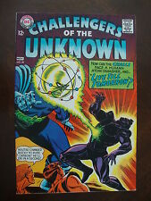 Challengers Of The Unknown #58 G/VG Live Till Tomorrow