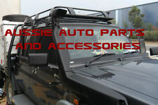 Enclosed Deluxe Alloy Rack 1650mm for Toyota LandCruiser 70 79 Series Dual Cab