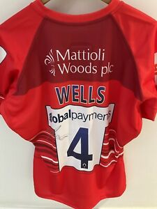 Leicester Tigers Harry Wells Signed European Challenge Cup Match Shirt