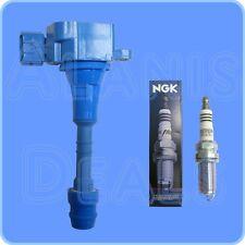 New NGK 4469 Spark Plug (1) + (1) Herko Ignition Coil For Nissan Infiniti Suzuki