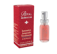 Royal Moroccan Professional Hair Treatment repair shiny soft   growing 3x10ml