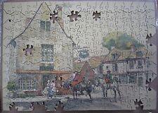AB399 VERA PICTURE PUZZLE 250 Pièces L'AUBERGE DU CHEVAL BLANC INCOMPLET