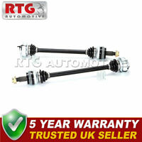 Brand New Rear Left + Right Pair Driveshafts Fits BMW 1 3 Series 04-13 E81 E87