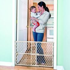 Baby Safety Wood Gate Fence Child Infant Protection Evenflo Pet Dog Cat Barrier