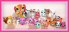 ❤️Littlest Pet Shop LPS LOT 30 WALKABLES Magic Motion Tiger Dachshund Cat❤️