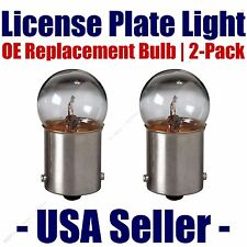 License Plate Bulb 2pk OE Replacement Fits - Listed Edsel Vehicles - 89
