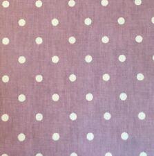 Prestigious Textiles tout court Lilla Bianco Dot finitura opaca in Tela Cerata Pvc