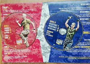 22 Minute Hard Corps Motivational Cardio Fit Fitness Workout 2 DVDs Set