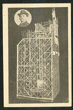 Goslar a. H.  Kunstuhr aus Strohhalmen gefertigt  Aug. Lehrke, Eisenbahner