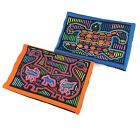 Lot Of 2 Peru Tapestry Wall Art Animal Graphics Neon Bright Colors Fabric