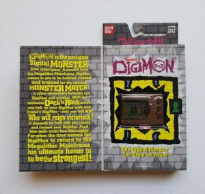 Digimon Tamagotchi - New & Sealed - Brown - Original Version - NIP