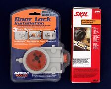 NEW WOOD / METAL DOOR LOCK JIG & HINGE INSTALLATION MORTISING TEMPLATE KITS