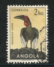 1951 - ANGOLA - 2 Ag.. UCCELLI - USATO - LOTTO/29009