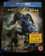 Pacific Rim Blu-ray 3D + Blu-ray (3 Disc Set) Lenticular Case