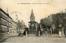 CARTE POSTALE CLERMONT FERRAND LA FONTAINE D'AMBOISE