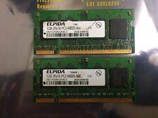 Elpida EBE11UE6ACUA-8G-E 2GB DDR2 PC2-6400S 800MHz SO 2 x 1G