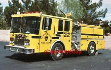 Fire Apparatus Slide, Engine 22, Clark Co FD / NV, 1991 Grumman