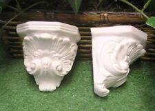 Small Corinthian Shelf Bracket Corbel Latex Fiberglass Production Mold Concrete