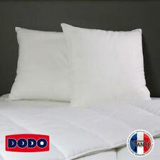 Lot 2 Oreillers DODO Beaux Rêves 60x60 cm Confort Moelleux Fabrication Française
