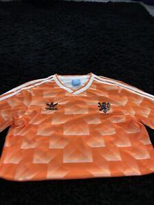 Mens Netherlands Football Shirt Size Large