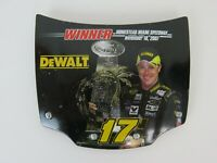 HOOD SERIES WINNER CIRCLE 3 inches deWALT #17 Matt Kenseth rare