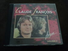 """CD """"CLAUDE FRANCOIS FOR EVER, VOLUME 3"""" best of 13 titres"""