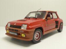 Solido Renault 5 Turbo 1981 Échelle 1:18 Voiture Miniature - Rouge Grenade (S1801302)