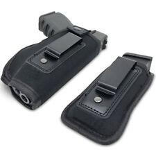 Clip-On Gun Carrier Holster Tactical Concealed Belt Handgun Holster Pouch LD