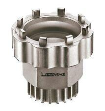Lezyne Werkzeug für Innenlager und Kettenverschlussring Nickel