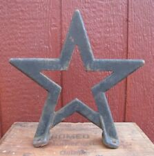 Antique Cast Iron STAR Architectural Hardware Element Barn Roof Decorative Arts