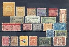 PANAMA -CANAL ZONE - 23 ST, INCL REVENUES ---F/VF