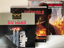 Die Hard Trilogy Set: Widescreen Edition Laserdisc LD