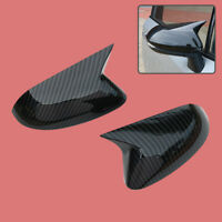 Carbon Fiber Style Rearview Mirror Cover Trim Fit for Toyota Corolla Hatchback