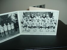 1915 U. of Maine Baseball Football Track Schedule Post Card FOLD OUT 4 Way