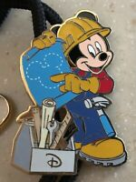Disney Construction Mickey Mouse WDW Cast Bolo Lanyard New in Package 35926