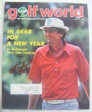 AL GEIBERGER signed Mr 59 1979 GOLF WORLD magazine AUTO Autographed USC TROJANS