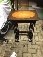 Antique Edwarian Mahongany Nest Of Tables.  Early 1900's