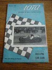 IOTA - THE MAGAZINE OF THE 500 RACING CLUB MARCH 1951